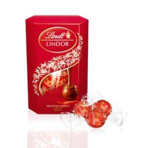 CHOCOLATE LINDT LINDOR CORNET MILK 75 GR