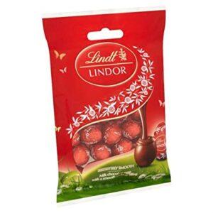 CHOCOLATE LINDT LINDOR ASS MINI EGG MILK 100 GR
