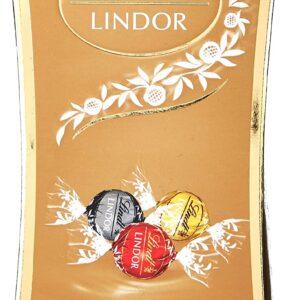 CHOCOLATE LINDT LINDOR CORNET MILK COR ASSORTED 75 GR