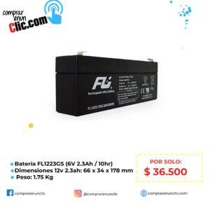 BATERIA SELLADA 12V-2.3AH REF. FL1223GS